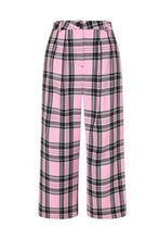 Load image into Gallery viewer, Pink and Black Riot Culottes