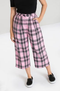 Pink and Black Riot Culottes