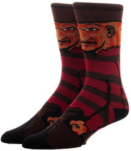Load image into Gallery viewer, Nightmare on Elm Street Freddy Character Socks