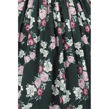 Load image into Gallery viewer, cotton floral print skirt