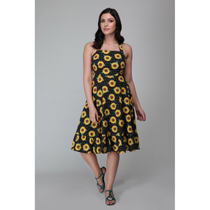 Sunflower Swing Dress- LAST ONE!