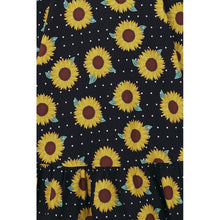 Load image into Gallery viewer, Sunflower Swing Dress- LAST ONE!