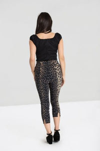 Panthera Capri Pants- SIZE XS, LAST ONE!