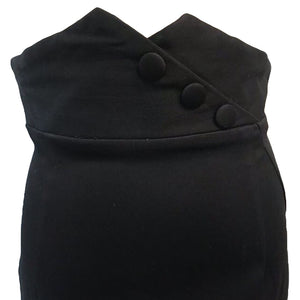 Blithe Noir Pencil Skirt Black