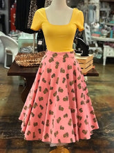 Load image into Gallery viewer, Pink Pineapple Swing Skirt- Up to 3XL!