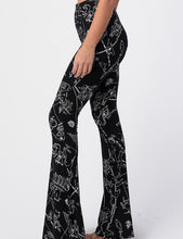 Load image into Gallery viewer, Astro Print Bell Bottom Leggings