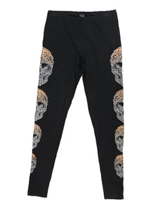 Bling Sugar Skull Leggings