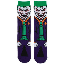 Load image into Gallery viewer, The Joker Batman Character Socks