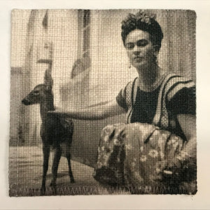 Deer Frida Linen Patch