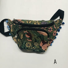 Load image into Gallery viewer, Carpet Bag Fanny Pack