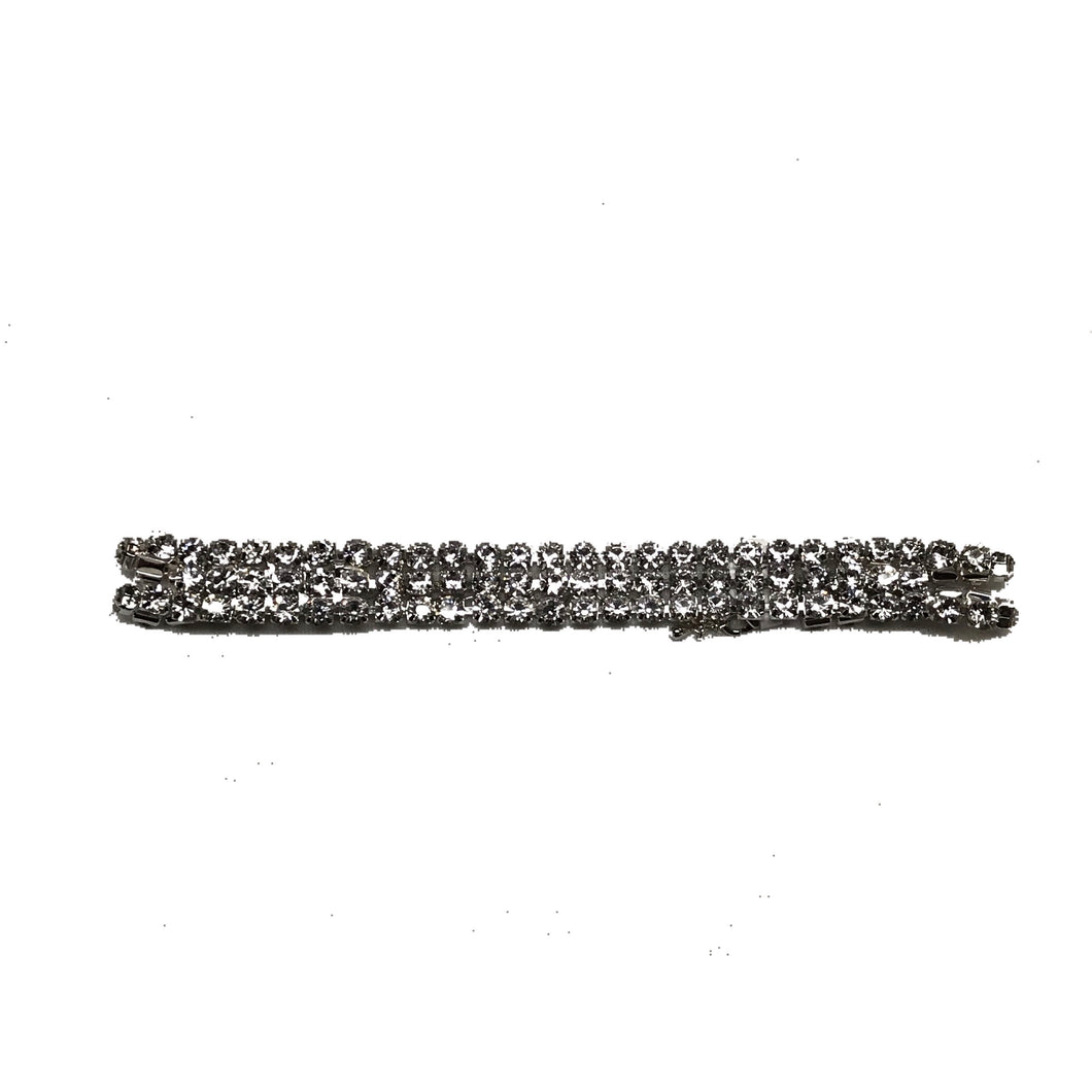 3 Row Bling Adjustable Choker