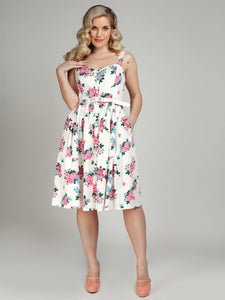 Jemima Floral Swing Dress