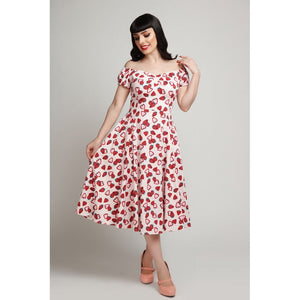Strawberry Swing Dress