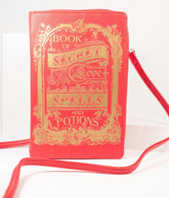 Load image into Gallery viewer, Book of Secret Love Spells Purse