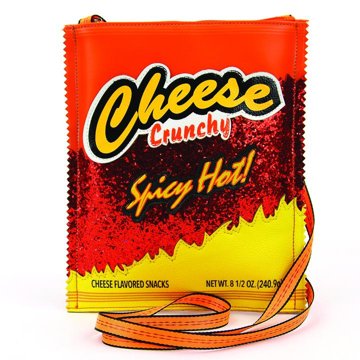 Hot Cheese Crunch Crossbody Purse