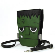 Load image into Gallery viewer, Frankenstein's Monster Crossbody Purse