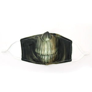 X-Ray Skeleton Mouth Face Mask