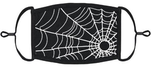 Spider's Web Cotton Face Mask