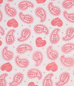 I Love Lucy Paisley Hair Scarf