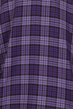 Load image into Gallery viewer, Kennedy Purple Plaid Swing Skirt