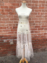 Load image into Gallery viewer, Ivory Sheer Star Dress