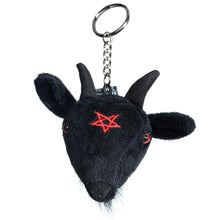 Load image into Gallery viewer, Baby Baphomet Plush Keychain