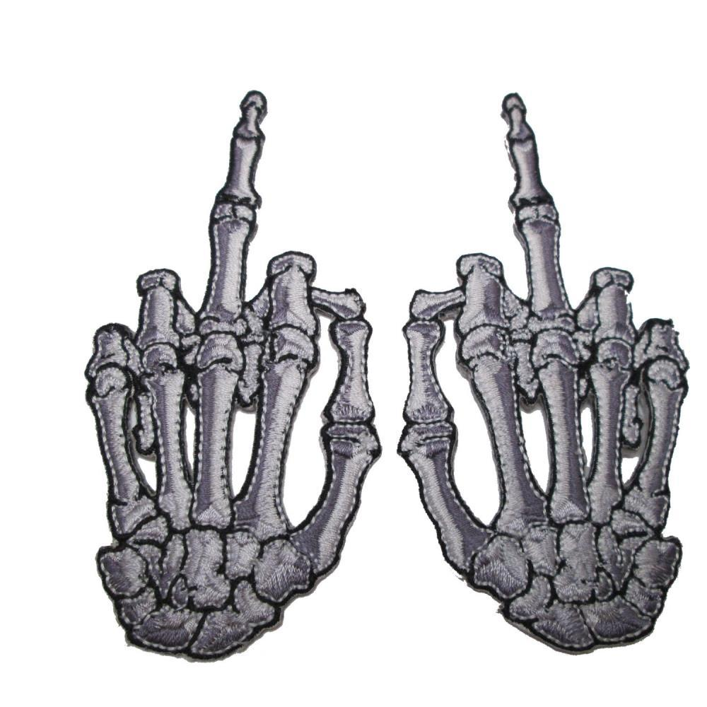 F*ck You Finger Set of 2 Patches