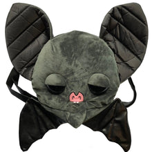 Load image into Gallery viewer, Bat Buddy Plush Convertible Backpack Purse