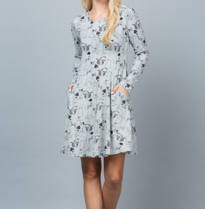 Kitty Cat Tunic Dress- LAST ONE!