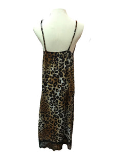 Leopard and Lace Cami Dress