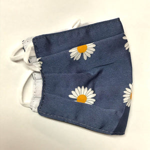 Blue Daisies Face Mask