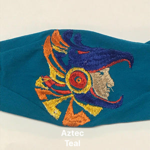 Figuring Embroidered Face Mask- OOAK Styles Available!