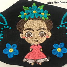 Load image into Gallery viewer, Figuring Embroidered Face Mask- OOAK Styles Available!