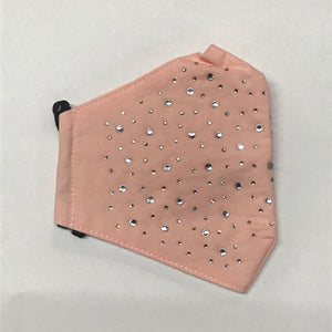 Rhinestone Studded Face Mask- More Colors Available!