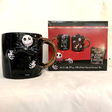 Load image into Gallery viewer, Nightmare Before Christmas Meant to Be Heat Changing Mug