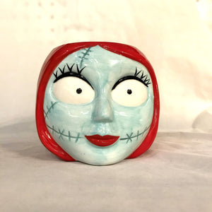 Nightmare Before Christmas Sally Head Mug