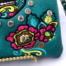 Load image into Gallery viewer, Sugar Skull Crossbody Purse- More Colors Available!