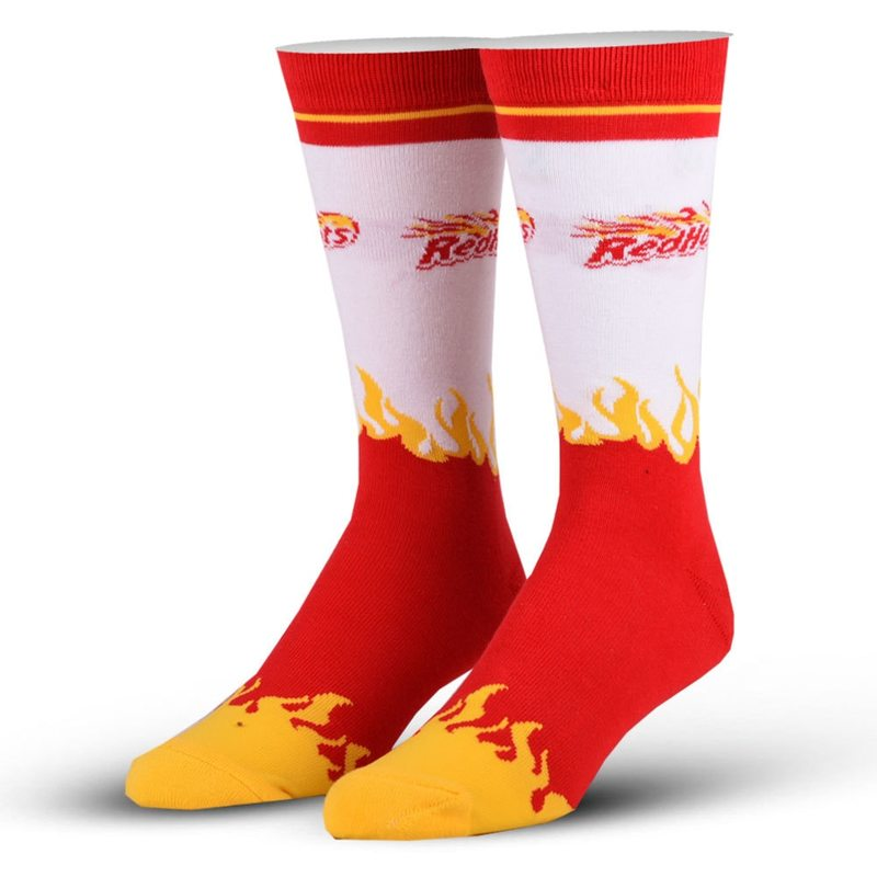 Red Hots Crew Socks