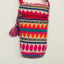 Load image into Gallery viewer, Stripe and Tassel Cell Phone Pouch