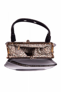 To Die For Black Handbag