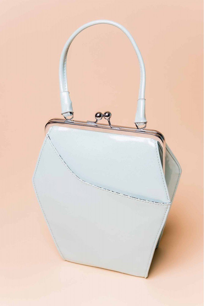 To Die For Frost Blue Handbag