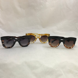 Thick Square Frame Sunglasses