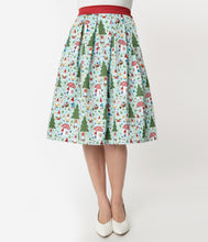 Load image into Gallery viewer, Forest Gnome Scene Jayne Swing Skirt