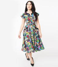 Load image into Gallery viewer, Universal Monsters Monsterror Hedda Swing Dress