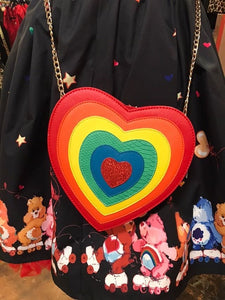 Rainbow Heart Purse- LAST ONE!