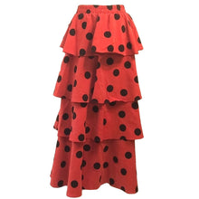 Load image into Gallery viewer, Ladybug Tier Skirt