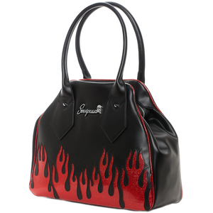 Up In Flames Rumbler Purse