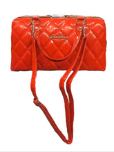 Load image into Gallery viewer, Red Jetson Quilted Hardshell Purse