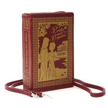 Load image into Gallery viewer, Pride and Prejudice Book Purse