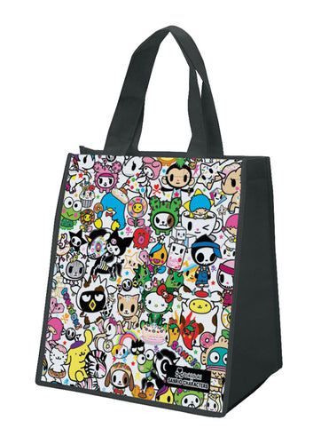 tokidoki hello hitty eco tote